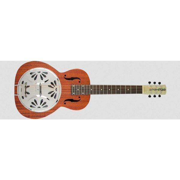 Gretsch Guitars G9210 Boxcar Square-Neck, Mahogany Body Resonator Guitar, Natural