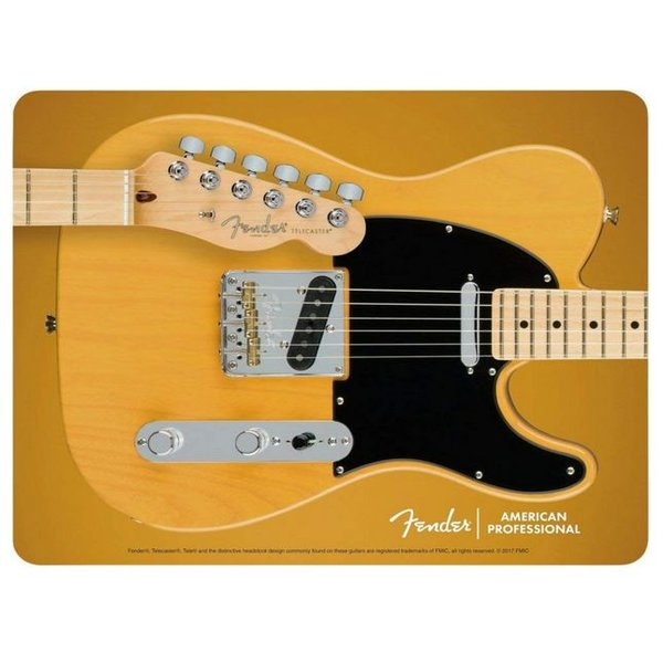Fender Telecaster Mouse Pad, Butterscotch Blonde