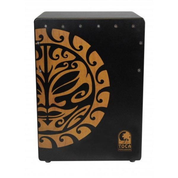 Toca NEW Toca Extended Range Cajon - Tiger Mask