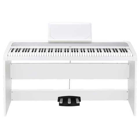 Korg B1SPWH Home Piano w/ Stand and Pedal