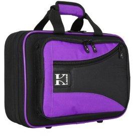 Kaces Kaces Lightweight Hardshell Clarinet Case Purple