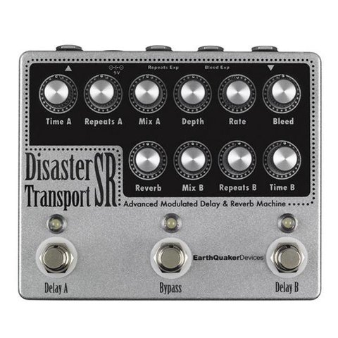 Earthquaker Devices Disaster Transport SR Advanced Mod Delay & Reverb Machine