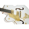 Gretsch G6136TLH-WHT Players Edition Falcon w Bigsby, Left-Handed, White
