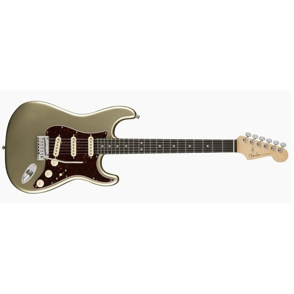 Fender American Elite Stratocaster, Ebony Fingerboard, Champagne