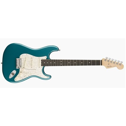 American Elite Stratocaster, Ebony Fingerboard, Ocean Turquoise