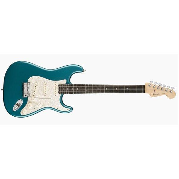 Fender American Elite Stratocaster, Ebony Fingerboard, Ocean Turquoise