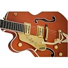 Gretsch G6120TLH Players Edition Nashville w Bigsby, Left-Handed, Orange Stain