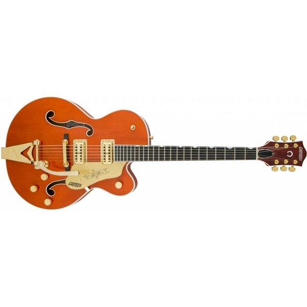 Gretsch Guitars Gretsch G6120T Players Edition Nashville with String-Thru Bigsby Orange Stain