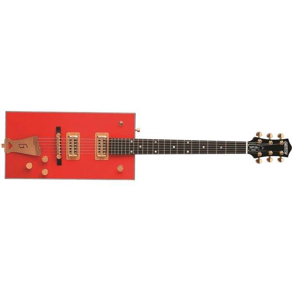 Gretsch Guitars Gretsch G6138 Bo Diddley, ''G'' Cutout Tailpiece, Ebony Fingerbrd, Firebird Red