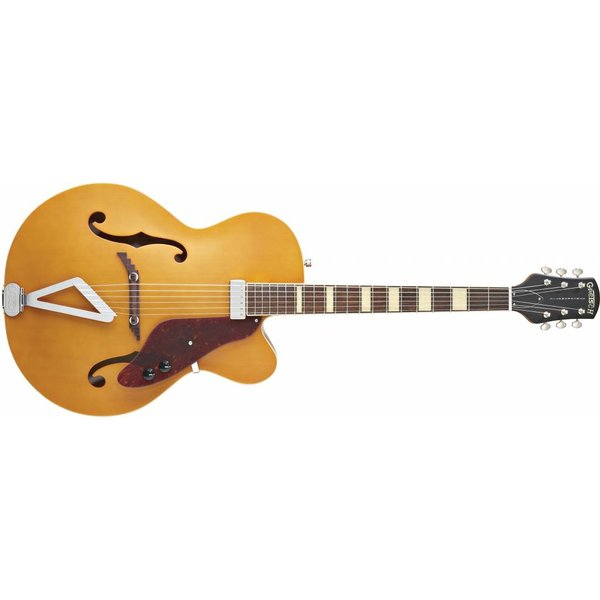 Gretsch Guitars Gretsch G100CE Synchromatic Archtop Cutaway Elec, Rosewood FB, Natural