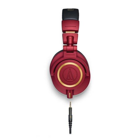 Audio Technica ATHM50xRD Limited Edition Red Closed-Back Monitor Headphones