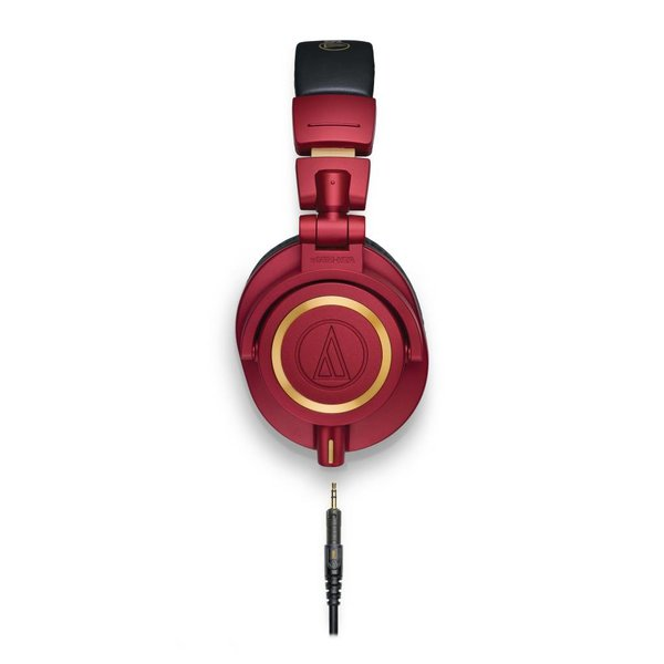 Audio Technica Audio Technica ATHM50xRD Limited Edition Red Closed-Back Monitor Headphones