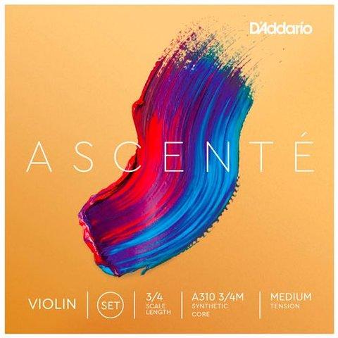 D'Addario A314 3/4M Ascente Violin G 3/4 Med