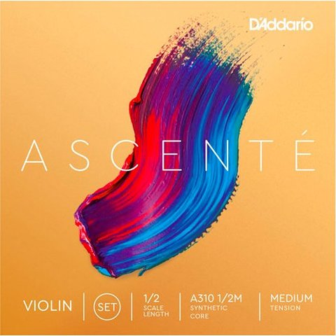 D'Addario A310 1/2M Ascente Violin Set 1/2 Med