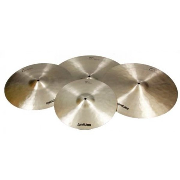 Dream Dream IGNCP4 Ignition 4 Piece Cymbal Pack 14HH,16CR,18CR,20RI and bag