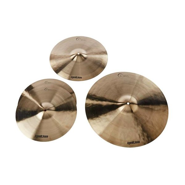 Dream Dream IGNCP3+ Ignition 3 Piece Cymbal Pack 14 HH, 18CR,22RI and bag
