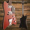 "Gretsch G6199 Billy-Bo Jupiter Thunderbird ""G"" Cutout  TV Jones Firebird Red"
