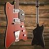 Gretsch G6199 Billy-Bo Jupiter Thunderbird ''G'' Cutout  TV Jones Firebird Red