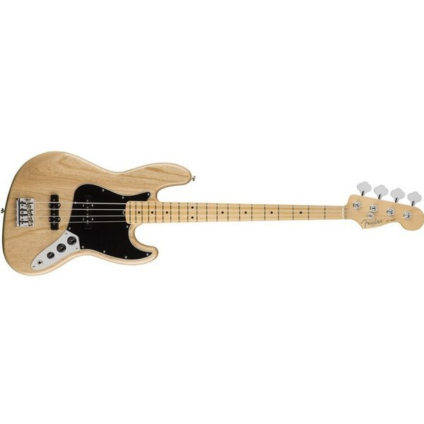 Fender American Pro Jazz Bass, Ash, Maple Fingerboard, Natural