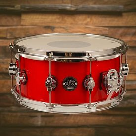 DW DROPSHIP DW Drum Workshop Performance DRPL6514SSCA Snare Drum 6.5 x 14 Candy Apple Laquer