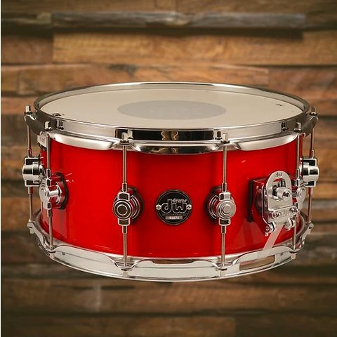 DW Drum Workshop Performance DRPL6514SSCA Snare Drum 6.5 x 14 Candy Apple Laquer