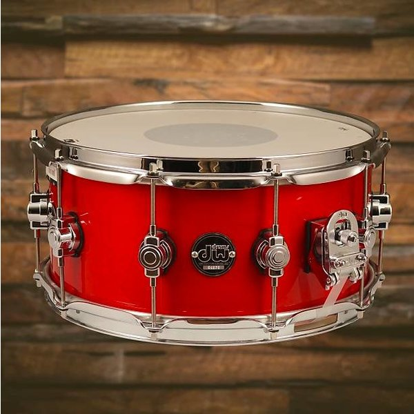DW DW Drum Workshop Performance DRPL6514SSCA Snare Drum 6.5 x 14 Candy Apple Laquer