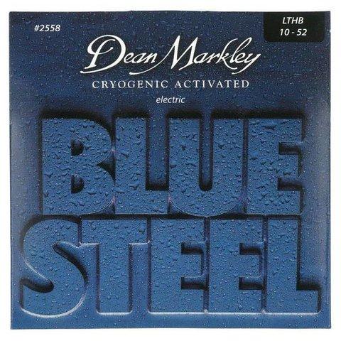 Dean Markley 25583PK Blue Light Top Heavy BTM, 10-52   3-Pack