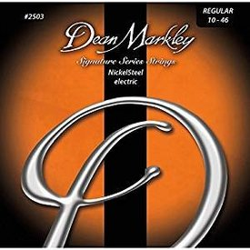 Dean Markley Dean Markley 25033PK Signature Series NickelSteel Elec Guitar Strings, Regular, 10-46 Gauge 3-Pack