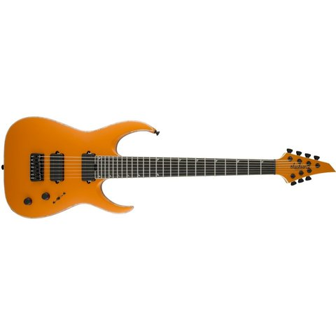 USA Signature Limited Edition Misha Mansoor Juggernaut HT6, Ebony Fingerboard, Matte Lambo Orange