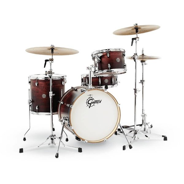 Gretsch Drums Gretsch CT1-J484-SAF Catalina Club 4-Pc Shell Pack Satin Antique Fade