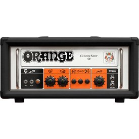 Orange Orange Custom Shop CS50 Blk 50 Class A/B, 30 W Class A, Handwired Single Ch foot-switchable EQ Lift