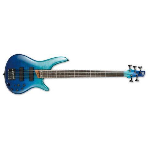 Ibanez SR Standard 5str Electric Bass - Blue Reef Gradation