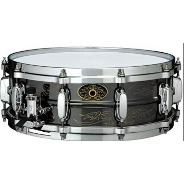 TAMA Tama KA145N Kenny Aronoff Signature 5x14'' Engraved Brass Snare Drum