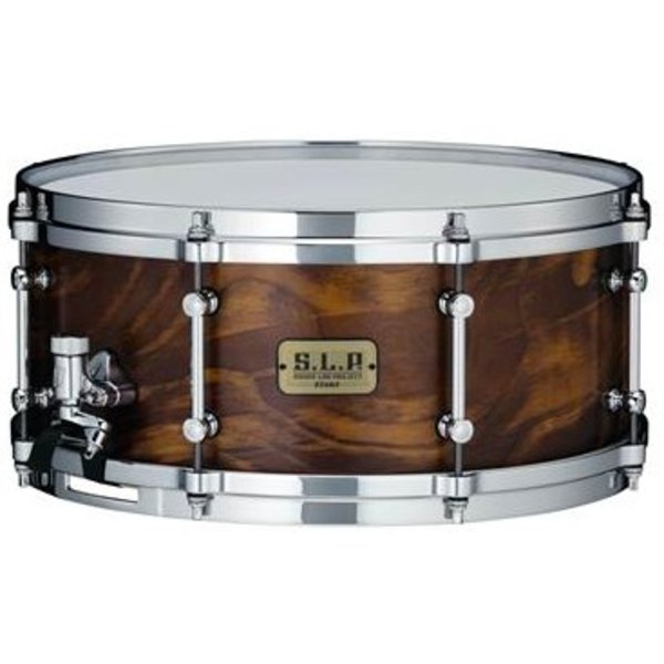 TAMA Tama LSP146WSS S.L.P. Fat Spruce 6''x14'' Snare Drum - Wild Satin Spruce Finish