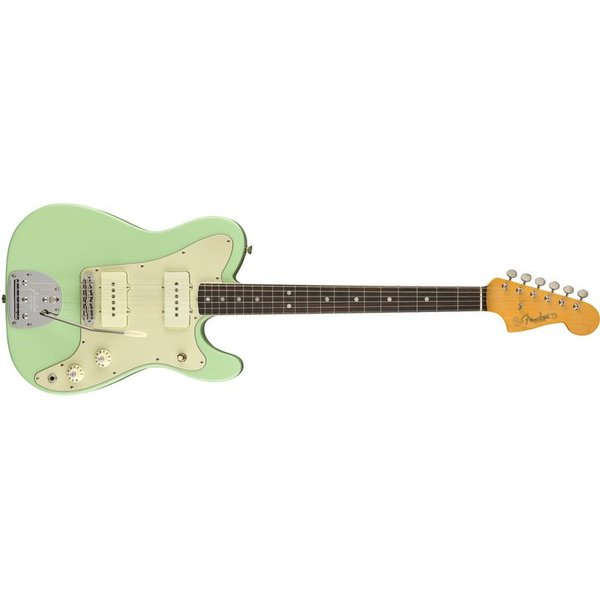 Fender Fender Limited Edition Jazz Tele Rosewood Surf Green S/N US18002150