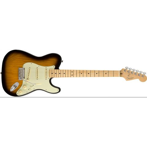 Fender Limited Edition Strat-Tele Hybrid Maple Two Tone Sunburst
