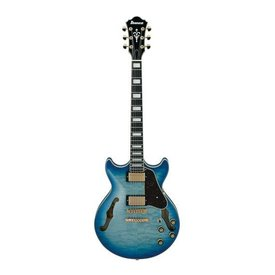 Ibanez Ibanez AM Artcore Expressionist 6str Electric Guitar - Jet Blue Burst