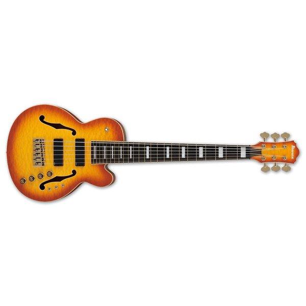 Ibanez Ibanez TCB1006ALM Stephen ''Thundercat'' Bruner Signature 6str Elec Bass - Autumn Leaf Burst Matte