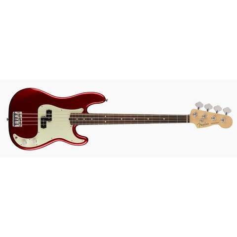 American Pro Precision Bass, Rosewood Fingerboard, Candy Apple Red