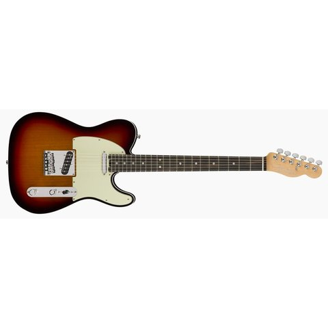 American Elite Telecaster, Ebony Fingerboard, 3-Color Sunburst