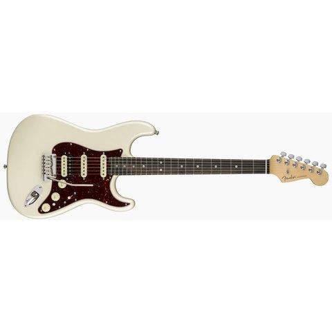 American Elite Stratocaster HSS ShawBucker, Ebony Fingerboard, Olympic Pearl