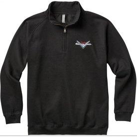 Fender Fender Custom Shop Half Zip Sweater, Black, XL