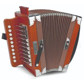 Hohner Hohner D40 Ariette One-Row Diatonic Accordion Key of C Natural Color