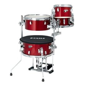 TAMA TAMA Cocktail-JAM Mini 4-piece shell pack w/ hardware Candy Apple Mist