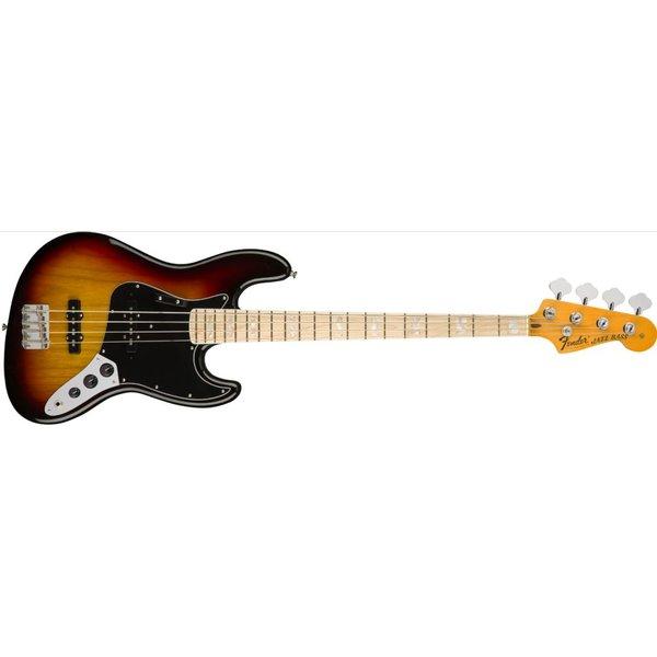 Fender American Original '70s Jazz Bass, Maple Fingerboard, 3-Color Sunburst