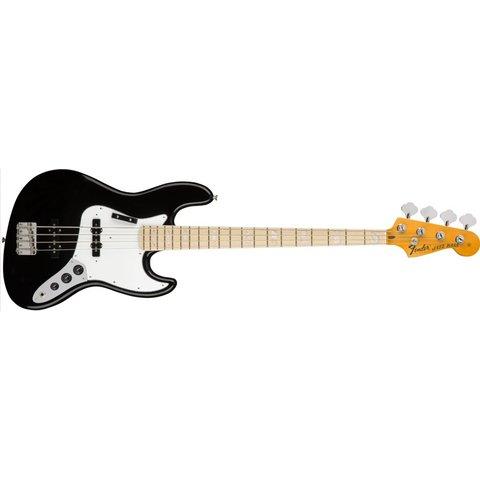 American Original '70s Jazz Bass, Maple Fingerboard, Black