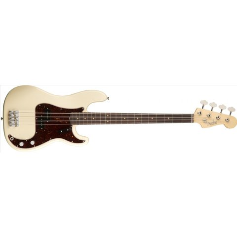 American Original '60s Precision Bass, Rosewood Fingerboard, Olympic White