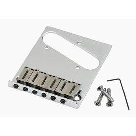 Fender Fender 6-Saddle American Series Telecaster Bridge Assembly (Chrome)