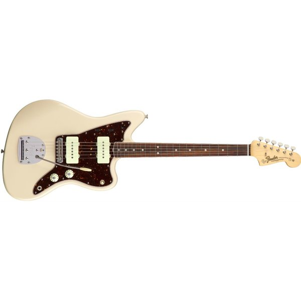 Fender American Original '60s Jazzmaster, Rosewood Fingerboard, Olympic White