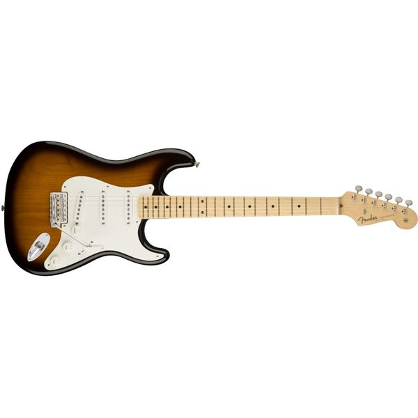 Fender American Original '50s Stratocaster, Maple Fingerboard, 2-Color Sunburst